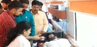 bacchu kadu blood donate
