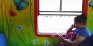 enjoy free wifi internet in mumbai local