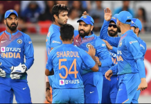 india vs new zealand t20 match India won by 6 wickets