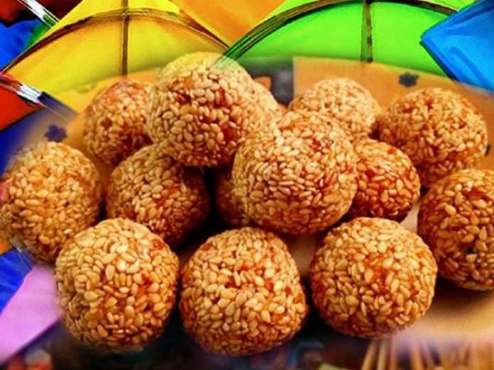 tilgul ladoo recipe