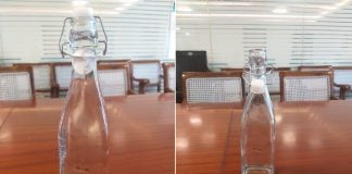mantralay water bottle