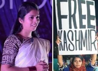 mehak mirza prabhu free kashmir poster girl