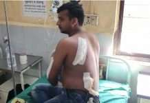 pawan juice center owner attacked again