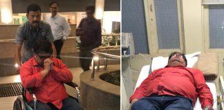 ranjeet savarkar admitted in hospital