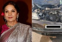 Shabana Azmi car accident: FIR lodged against her driver for rash driving