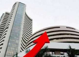 sensex crosses 42000 for first time ever
