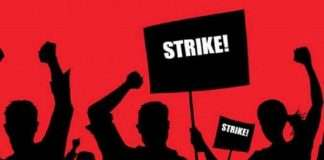 state government employee strike