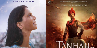 chhapaak and tanhaji the unsung warrior day 2 box office collection