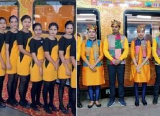tejas express rail hostess