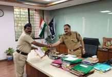 police constable win gold medal in rifle shooting