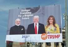 preparation to welcome donald trump in ahmedabad