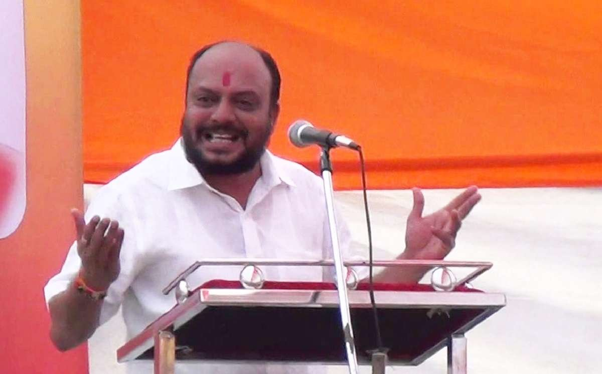 shiv sena leader Gulabrao Patil