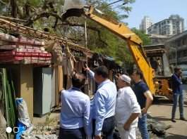 action on unauthorized construction in dongri
