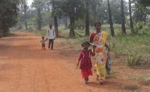 Villagers in Basaguda Village