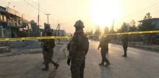 suicide bombing near military academy in kabul kills 6