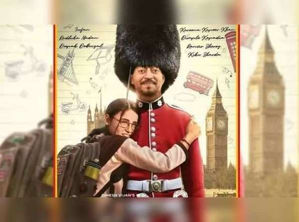 irrfan khan share a video after releaseing a poster of angresi midiam