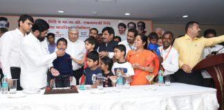 eknath shinde celebrate birthday with undergoing heart surgery childrens