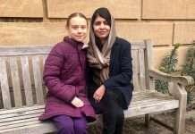 greta thunberg meets malala yousafzai at oxford university internet loves viral pic