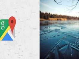 Man blames Google Maps for falling into frozen river