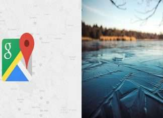 Man blames Google Maps for falling into frozen river