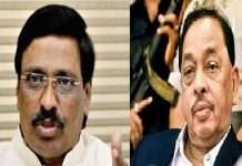 narayan rane and vinayak raut