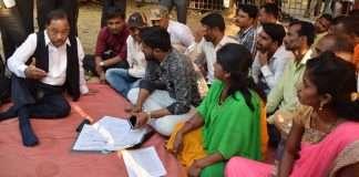 narayan rane meets maratha protesters