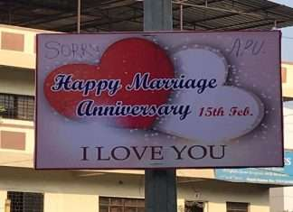 sorry appu happy anniversary posters in pune