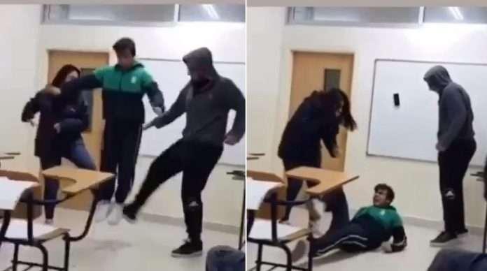 tripping jump