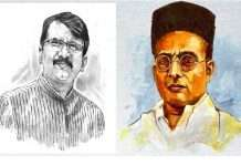 veer savarkar and sanjay raut