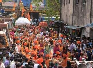 shiv jayanti celebration in navi mumbai