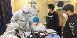 Coronavirus testing in mumbai
