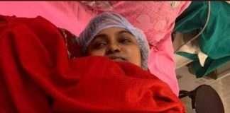 IAS kiran pasi with new born child