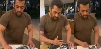 Salman Khan Sketching video