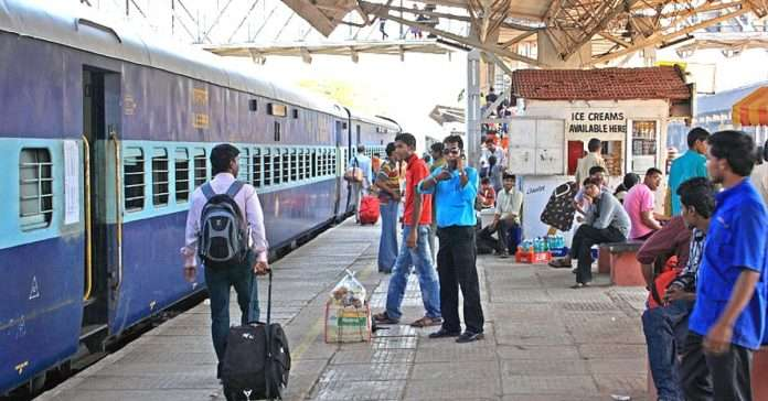 Check every outside passenger coming from train standing committee give order to administration