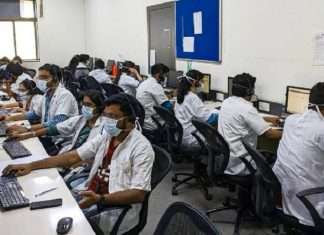 bmc intern doctors working round the clock