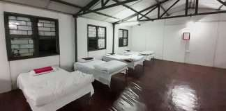 Quarantine facility for coronavirus affectected