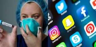 corona virus and social media