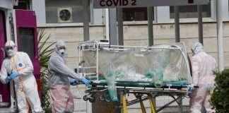 coronavirus patient died
