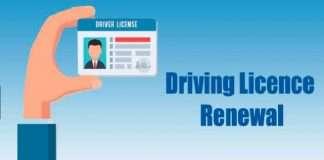 driving licens renewal