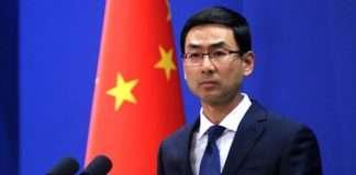 spoke person of china