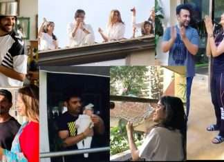 thali bajao celebrity claps for all fighters against corona
