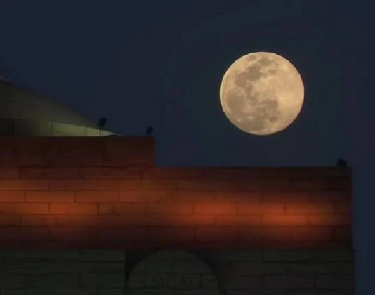 supermoon biggest and brightest moon of 2020 photos when it comes close to earth