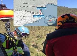 Man is rescued by helicopter then fined after trying to WALK from France to Spain over the Pyrenees to buy cigarettes during the coronavirus lockdown