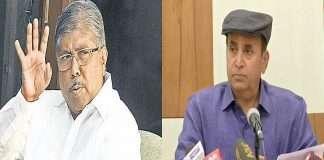 home minister anil deshmukh remove from the cabinet said chandrakant patil