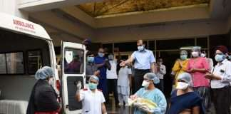 Ghansoli resident women is tested corona negative after her pregnancy