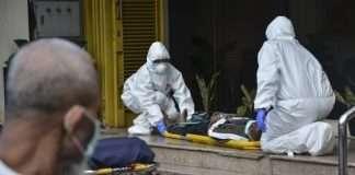 america corona patients died