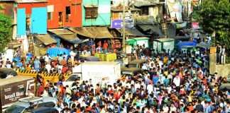 bandra migrants gather
