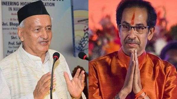 cm uddhav thackeray and governor bhagat singh koshyari