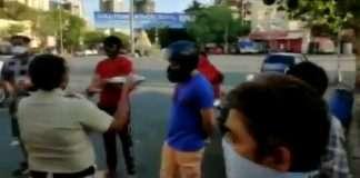 corona police prayers