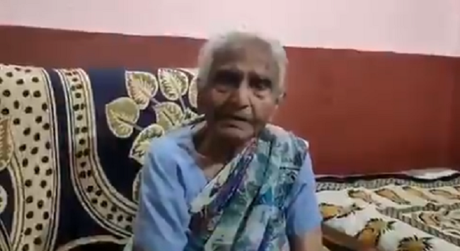 82-year-old woman donates Rs 1 lakh from pension money to MP CM's Relief Fund